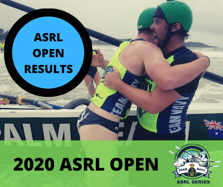 ASRL Open 2020 - RESULTS